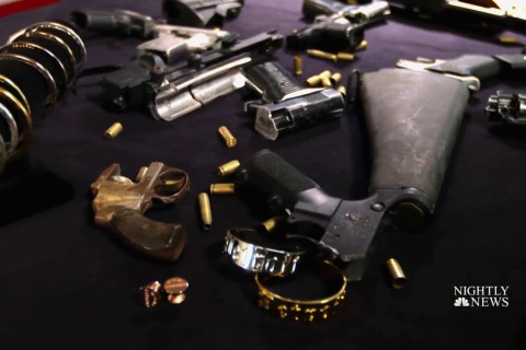 Woman fights gun violence by turning illegal firearms into jewelry