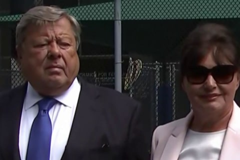 First Lady Melania Trump's parents sworn in as U.S. citizens