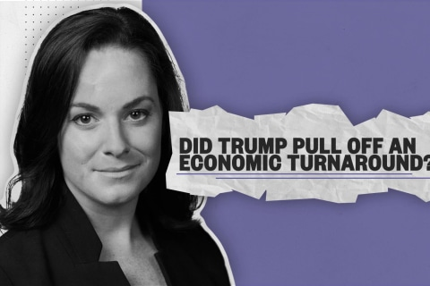 Fact check: Did Trump pull off an economic turnaround?