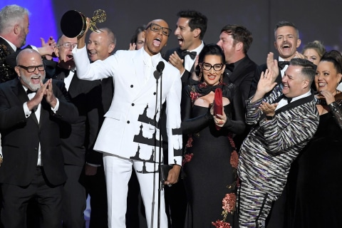'RuPaul's Drag Race' makes history at Emmy Awards