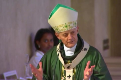'Shame on you:' Parishioner confronts Cardinal Wuerl about church abuse scandal