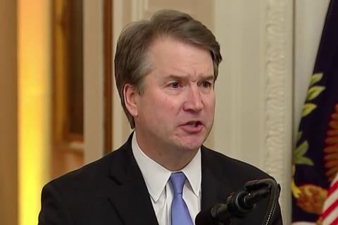 Watch Brett Kavanaugh's full speech at Supreme Court justice swearing-in ceremony
