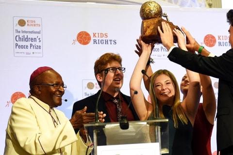Parkland survivors awarded international peace prize