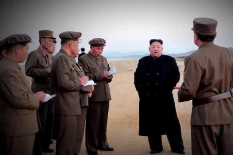 North Korea claims it has tested new 'ultramodern' weapon