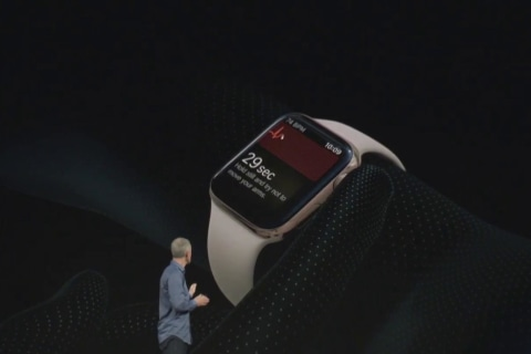 Apple touts smartwatch heart health technology, but warns it's not intended for users with heart conditions