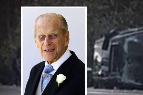 Prince Philip shaken but uninjured after car crash