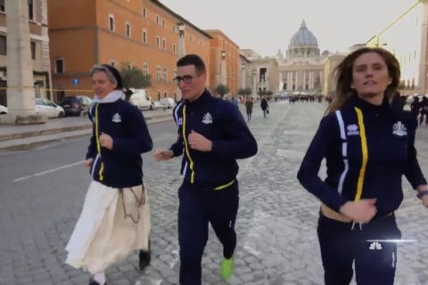 Vatican launches official track team