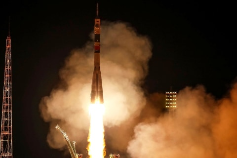 Soyuz rocket launches successfully after 2018 failure