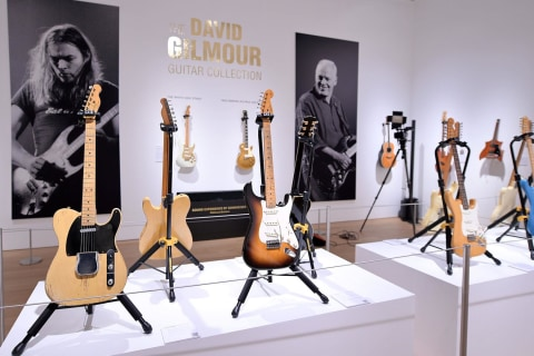 Pink Floyd's Gilmour sells guitar collection to fund climate change activists