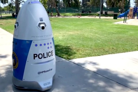 RoboCop joins Californian police department