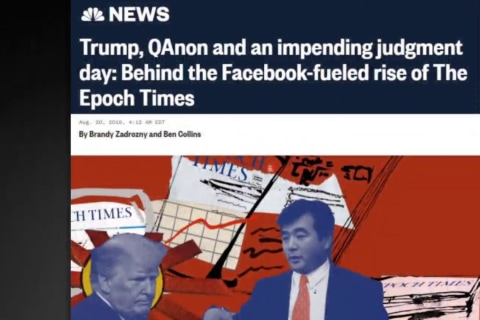 Little known Epoch Times is largest pro-Trump spender on Facebook
