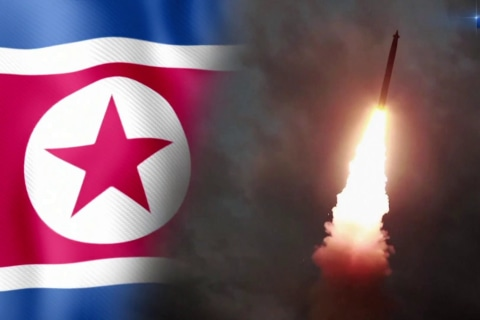 North Korea launches missiles for third time in just over a week