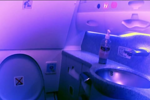 Man charged with hiding camera in passenger plane bathroom