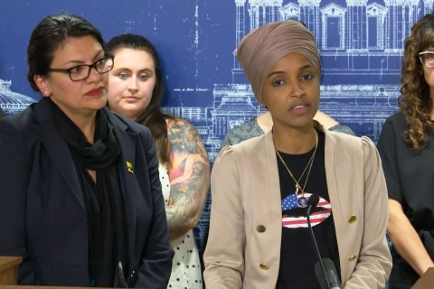'Deeply disturbed': Omar and Tlaib condemn Israel travel restrictions
