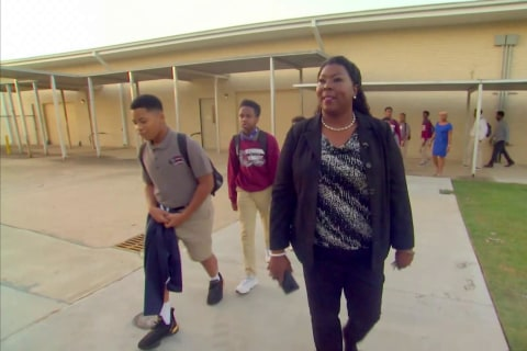 Meet the inspiring woman who went from being a janitor to an assistant principal