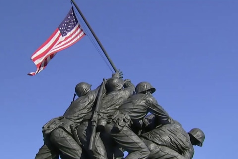 NBC News Exclusive: Marines say one of the men in iconic Iwo Jima flag raising photo was misidentified