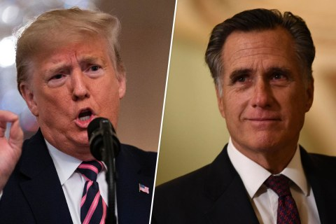 A history of Trump and Romney's rocky relationship