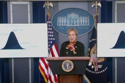 Dr. Birx outlines estimated coronavirus deaths in April