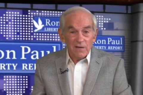 Watch: Ron Paul appears to suffer medical episode live on YouTube