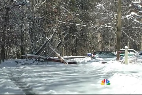 Northeast Recovers From Holiday Storm, As Some Outages Remain