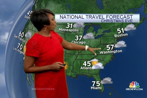 Christmas Storm Threatens to Disrupt Holiday Travel