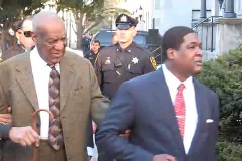 Bill Cosby Enters Pennsylvania Court
