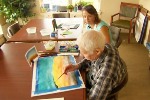 Art Gives Hope To Alzheimer's Patients