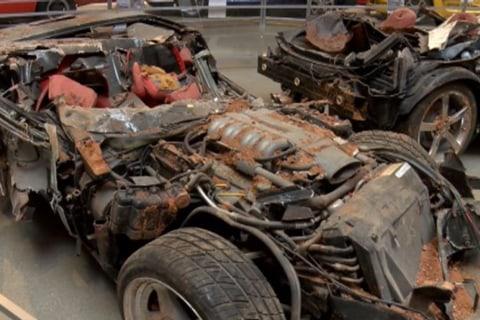 Corvette Museum Opens Cave-In Exhibit