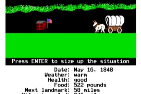 """Oregon Trail"" Video Game Enjoying A Comeback"