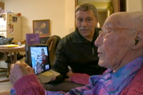 114-Year-Old Woman Loves Technology