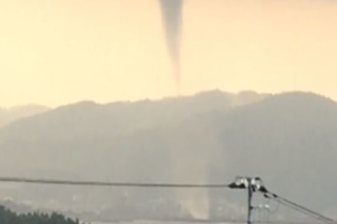 Tornado Touches Down in Japan