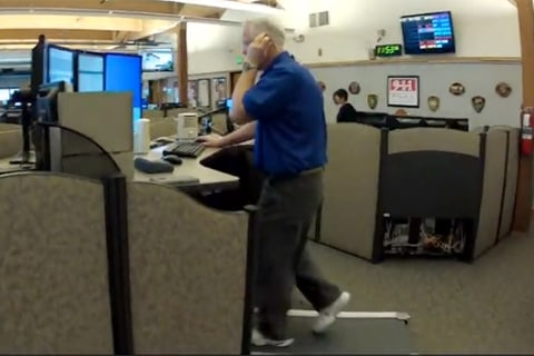 911 Dispatchers Step it up at Work