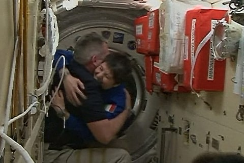 Soyuz Delivers Multinational Crew to International Space Station