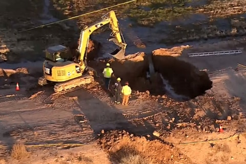 Body Recovered From Arizona Sinkhole