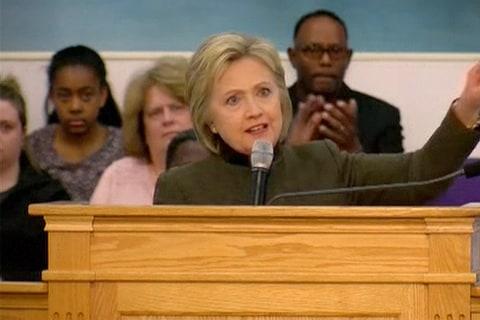 Hillary Clinton In Flint: 'Clean Water is not a Luxury'