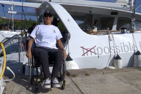 'Impossible Dream' Sailboat Gives Disabled Cubans Hope