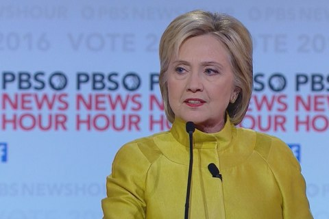 Sanders Points Out Difference on Immigration With Clinton
