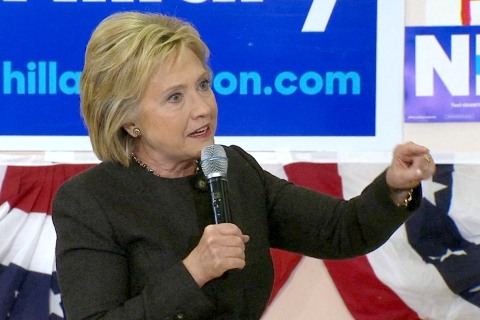 Clinton: 'I'm Going to Win By a Landslide' Tuesday If It's About Records