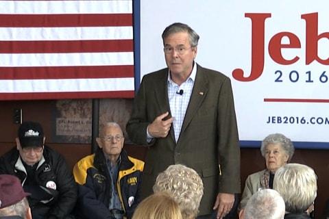 Jeb Bush to Iowans: You're Looki