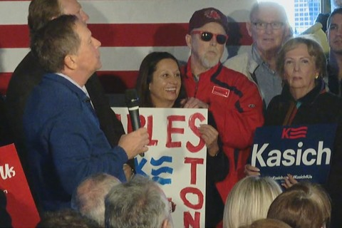 'Prickly' Kasich Has Some Fun With a Democrat in South Carolina