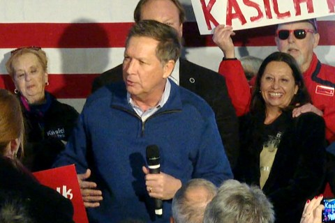 Kasich Talks About Inviting Himself to White House to Meet With Nixon