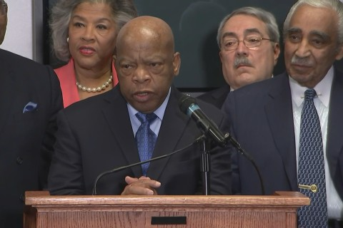 John Lewis 'Never Saw' Bernie Sanders at Civil Rights Events