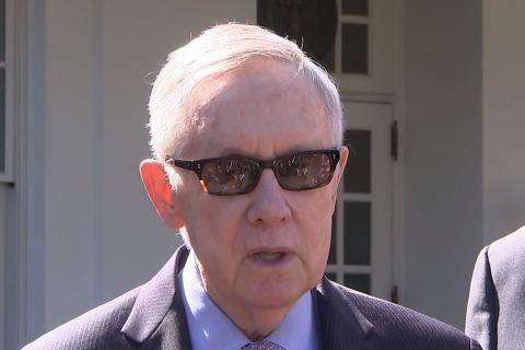 Harry Reid: GOP Waiting for 'President Trump' on SCOTUS Nominee
