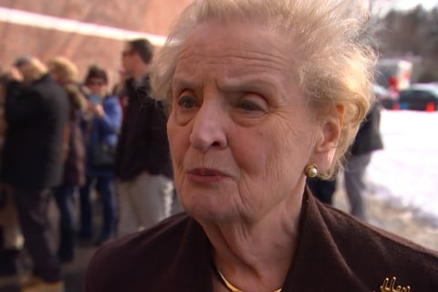 Madeleine Albright Questions Sanders' Foreign Policy Experience