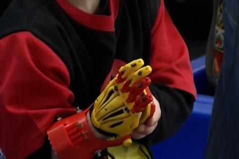 Studdents Design 3-D 'Iron Man' Hand For Ohio Boy
