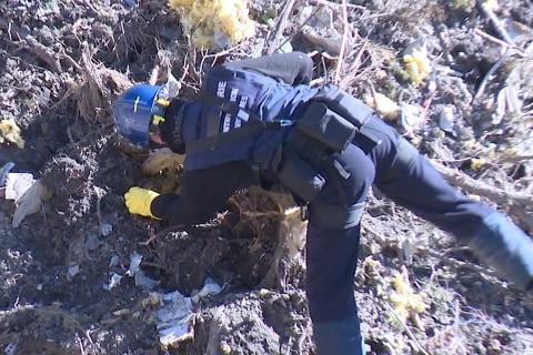 Investigators Comb Through Jet Crash Site