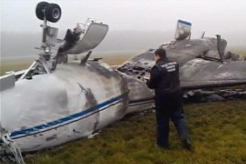 Snowplow into Jet Leaves Four Dead