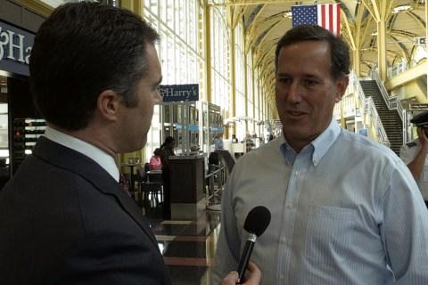 Santorum Calls Debate System an 'Insult to Voters'