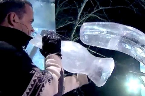 Hot Bands Play Cool Instruments at Ice Music Fest