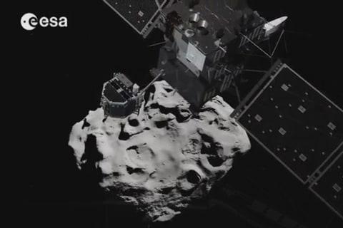 Rosetta Attempts Robotic Comet Landing